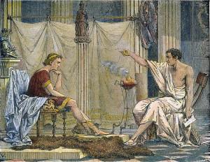 Nagy Sándor & Arisztotelész