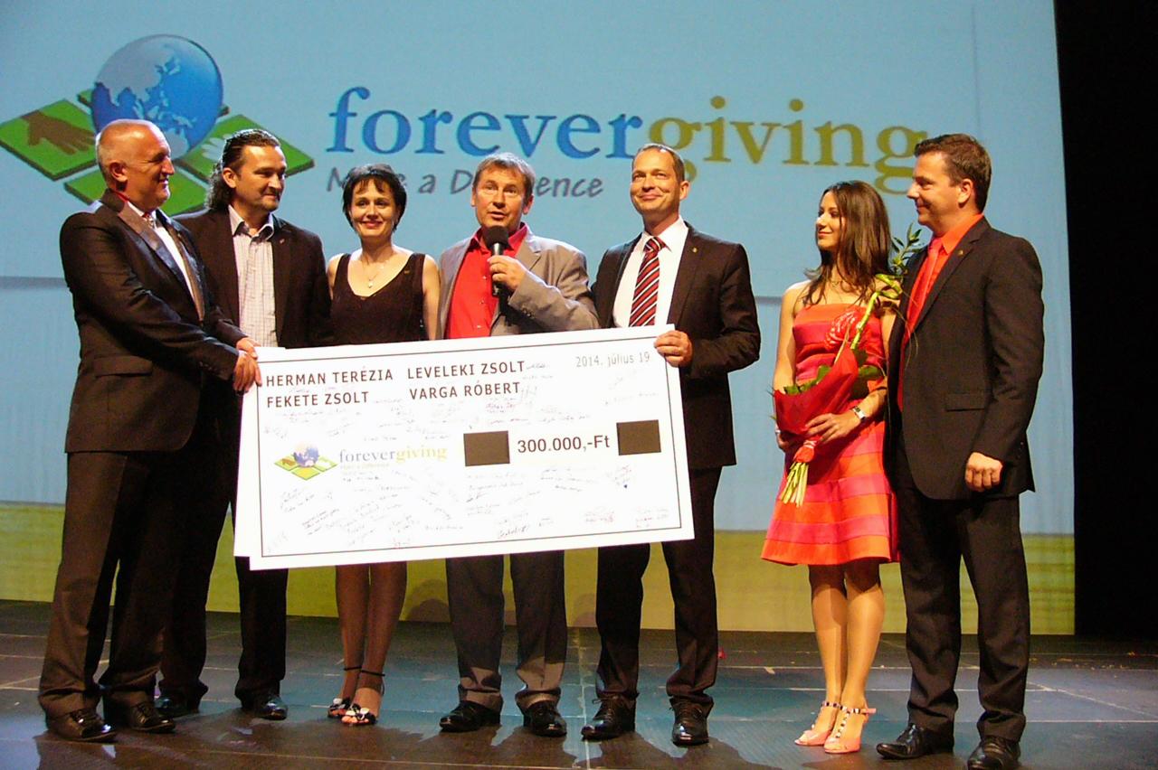 Roberto Forever Giving
