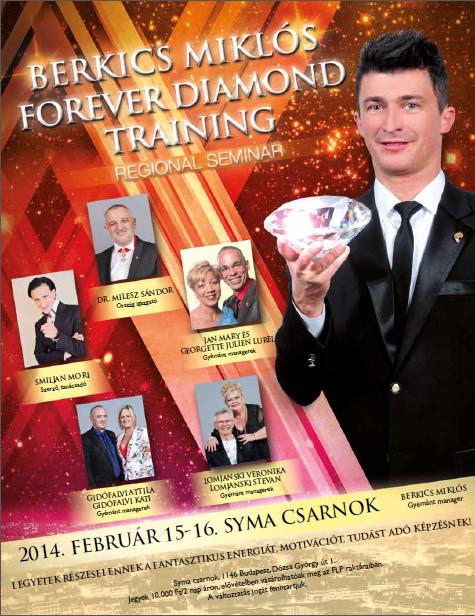 2014 02 15-16 Diamond Training Budapest ajánló