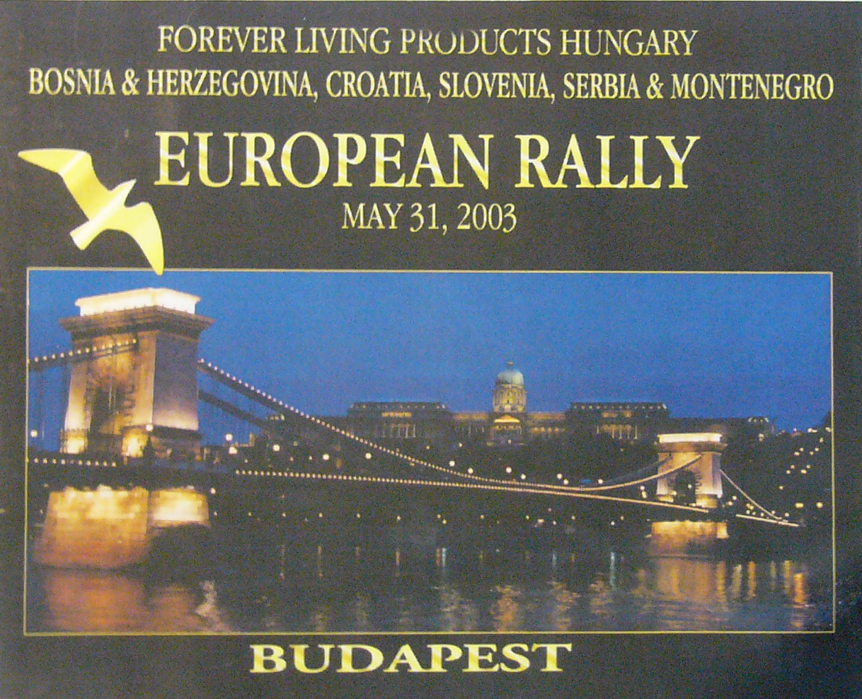 2003 05 31 European Rally Budapest