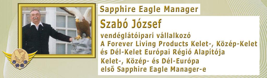 Szabó József Sapphire Eagle